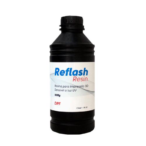Resina Reflash 3D Clear 1000g - DPF