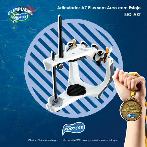 Articulador A7 Plus s/ Arco c/ Estojo - Bio-Art