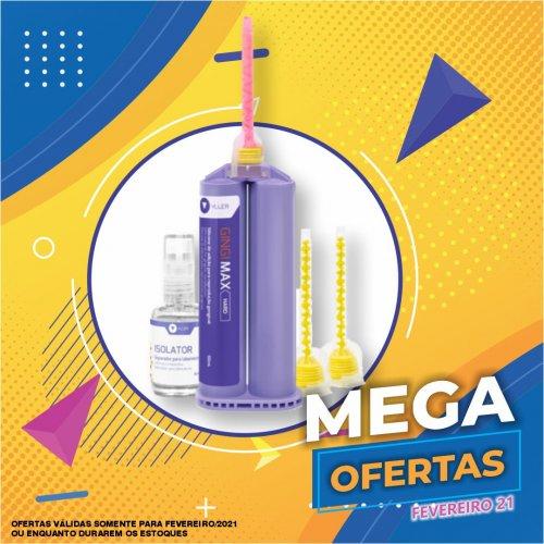 Gengiva Artificial GingiMax Esthetic  (1x 50ml + 6 Misturados + Liq. Separador) - Yller