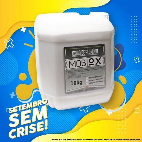 Óxido Alumínio 125 Microns Violeta 10Kg MobiOx - DPF